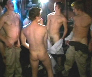 Four glorious galleries delivering you the ultimate in straightlad raunch as these horny lads strip, snog and just fall short of fucking on the dance floor - Galleries 1693 - 1696
